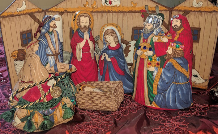 plush nativity set